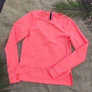 Lululemon SeaWheeze | Pullover Salmon Pink 2